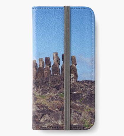 Moais iPhone Wallet/Case/Skin