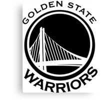 Golden State Warriors 2016 NBA Champions vs. Clevland Cavaliers Canvas Print