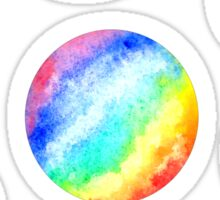 rainbow planets Sticker