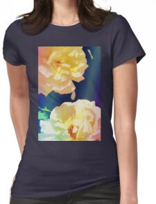Rose 372 Womens Fitted T-Shirt