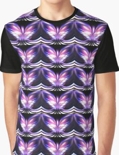 Lilac Wings Graphic T-Shirt