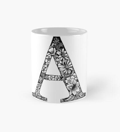 Alphabet Letter A Mug