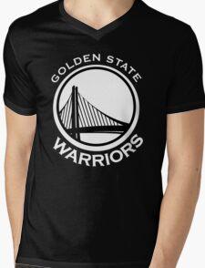 Golden State Warriors Mens V-Neck T-Shirt
