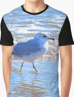 Wading In The Surf Graphic T-Shirt