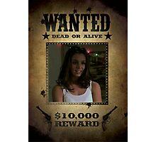 Buffy Faith Wanted Eliza Dushku 1 Photographic Print