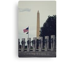 Securing Freedom Canvas Print