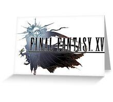 Final Fantasy XV - Logo Greeting Card