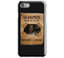 Buffy Faith Wanted Eliza Dushku 2 iPhone Case/Skin