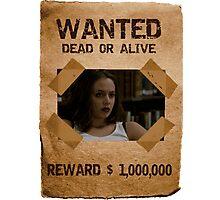 Buffy Faith Wanted Eliza Dushku 2 Photographic Print