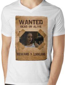 Buffy Faith Wanted Eliza Dushku 2 Mens V-Neck T-Shirt