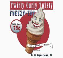 Twirly Curly Twisty Frosty Top! by Patti Argoff