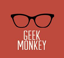 geek monkey by comesatyoufast