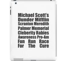 Dunder Mifflin Fun Run Race For The Cure iPad Case/Skin