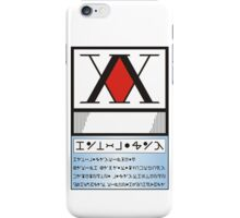 Hunter License iPhone Case/Skin