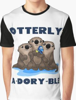 Otterly A-Dory-Ble! Graphic T-Shirt