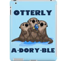 Otterly A-Dory-Ble! iPad Case/Skin