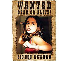 Buffy Faith Wanted Eliza Dushku 3 Photographic Print