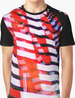 Red White and Blue Graphic T-Shirt