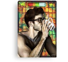 Morning Power-up Canvas Print