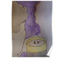 Eyeball Tea Poster
