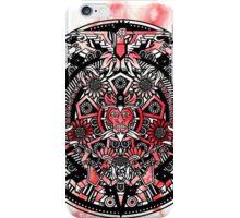 Watercolour Splash Aztec Mandala iPhone Case/Skin