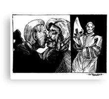 Robert Byrd Hillary Clinton Canvas Print