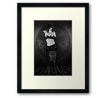 Emotional Blindness - Self Portrait Framed Print