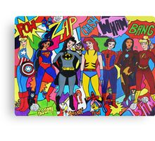 Super Princesses  Metal Print