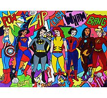 Super Princesses  Photographic Print