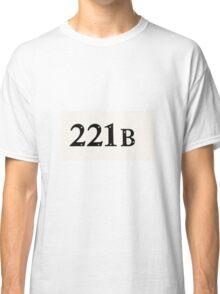 221b tshirt Classic T-Shirt