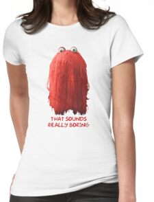 DHMIS - Boring Don't Hug Me I'm Scared 1 Womens Fitted T-Shirt