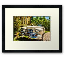 1948 Lincoln convertible  Framed Print