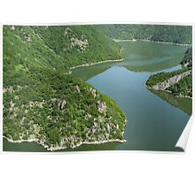 More Than Fifty Shades Of Green - Summer Lake in the Mountains Poster