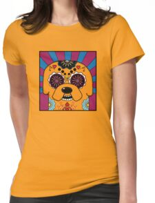 Jake's time of Adventure Womens Fitted T-Shirt