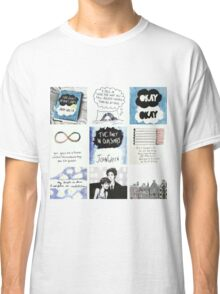 tfios collage tshirt Classic T-Shirt
