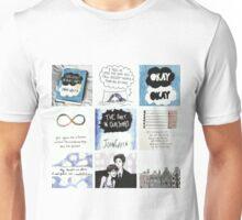 tfios collage tshirt Unisex T-Shirt