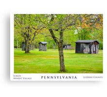 Luzerne County. Canvas Print
