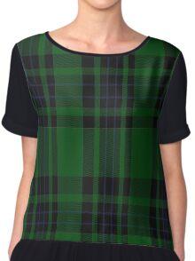 02500 Duchess of Fife #2 Fashion Tartan  Chiffon Top