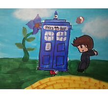 Doctor Who Wizard Of Oz Mix Photographic Print