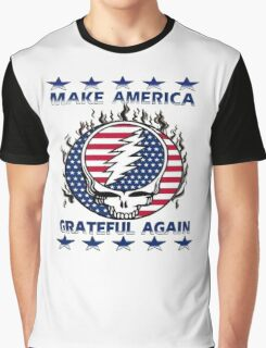 Make Grateful Again - America Graphic T-Shirt