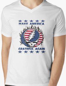 Make Grateful Again - America Mens V-Neck T-Shirt