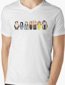 Meanwhile, At Moping Manor Mens V-Neck T-Shirt