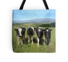 Curious cows Tote Bag