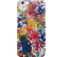 Abstract Paint  iPhone Case/Skin
