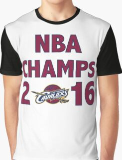Cleveland Cavaliers 2016 NBA Champions vs. Golden State Warriors Graphic T-Shirt
