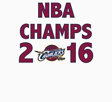 Cleveland Cavaliers 2016 NBA Champions vs. Golden State Warriors Unisex T-Shirt