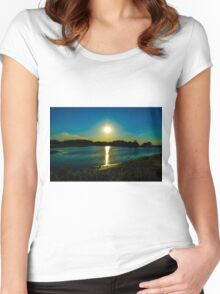 Bombay Sunshine Women's Fitted Scoop T-Shirt