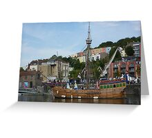 "The ""Matthew"" at Bristol Greeting Card"