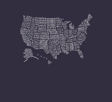 United States Map  Unisex T-Shirt