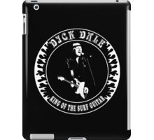 Dick Dale (King of the surf guitar) iPad Case/Skin